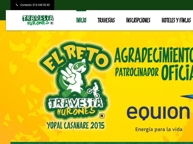 TRAVESIA HURONES -  EL RETO