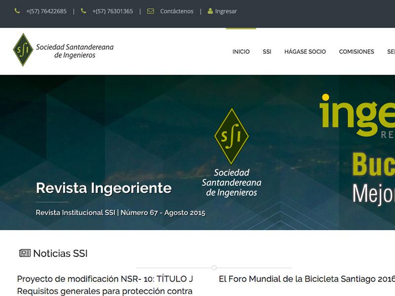 SSI - SOCIEDAD SANTANDEREANA DE INGENIEROS