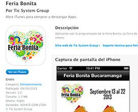 Feria bonita app móvil