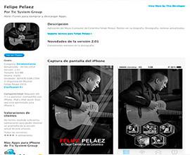 Felipe Peláez app móvil